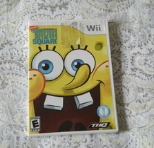 2009 Nintendo Wii Video Game SpongeBob's Truth or Square - $12.99