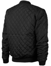 Men's Lightweight Ring Zipper Quilted Water Resistant Slim Bomber Jacket JASON image 4