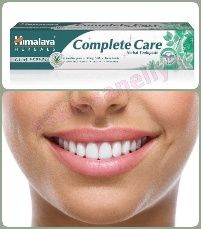 Primary image for HIMALAYA HERBAL Toothpaste 75ml. COMPLETE CARRE NO PARABEN