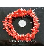 Chinois Corail, Rose Foncé , Pépites Perles 40.6cm Strand bs291 - $2.93