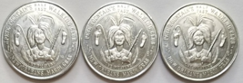 1983 MARDI GRAS: 1961 Pete Fountain Walking Club New Orleans 3 Aluminum ... - $4.95