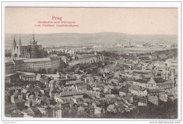 Hradschin u Kleinseite Prague Czech Republic postcard - $4.46