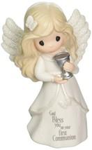 Precious Moments Communion Angel Bisque Porcelain Figurine 163051 - $50.00