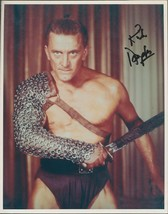Kirk Douglas signed color photo. Spartacus.Nice !!  - $29.95
