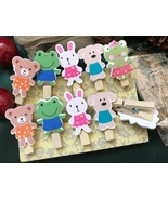 30pcs Mixed Style Clothespins holders,Photo Clips,Children's Party Decor... - $7.20