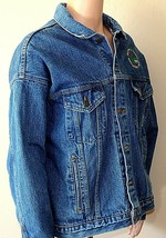 Denim Steelworkers Jacket Jean Men's XL Lined 13214 Safety USA A of M Vi... - $69.29