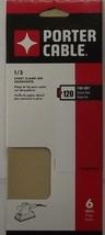 PORTER CABLE 783801206 1/3 Sheet AO 120g Sandpaper - $1.58