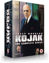Kojak Complete Series 1-5 Collection DVD New *REGION 2 PLEASE READ LISTING* - $71.95