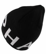 Asphalt Yacht Club Mens Black Blockbuster Jacquard Skate Beanie Winter Hat NWT image 2