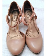 "LIFESTRIDE-""Soft System"" PEARL Beige Ankle Strap Shoes, Sz. 8M  - $10.00"