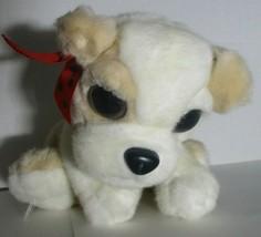 "Aurora Brown /Cream and White Puppy Dog plush 9"" - $8.90"