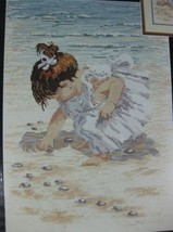 Janlynn Collecting Shells 29-19 Counted Cross Stitch Kit Sealed Beach Na... - $17.95