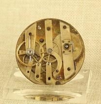 E.FRANCILLON longines Uhr Werk Taschenuhr pocket watch movement no spindel RAR - $18.63