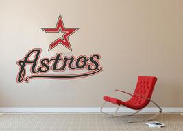 Houston Astros MLB Baseball Team Wall Decal Decor For Home Laptop Sports - $104.45