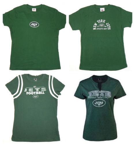 NFL New York Jets Junior Women's Tee Shirt Short Sleeve T-Shirt Licensed NEW