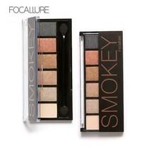6 Colors Eyeshadow Palette Glamorous Smokey Eye Shadow Makeup Makeup Kit... - $6.99