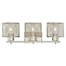 Westinghouse Lighting 6327600 Morrison Three-Light Indoor Wall Fixture, Brushed  - $113.74