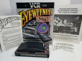 EYEWITNESS NEWSREEL CHALLENGE ~ 1985 VCR Game ~ Factory Sealed ~ Parker ... - $13.45