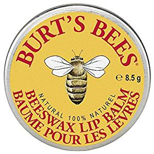 Burt's Bees Beeswax Lip Balm .30 oz 8.5 g 100% Natural
