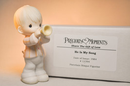 Precious Moments: He Is My Song - 12394 - Classic Figure - $15.83