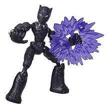 Avengers Marvel Bend and Flex Action Figure Toy, 6-Inch Flexible Black Panther F - $16.10