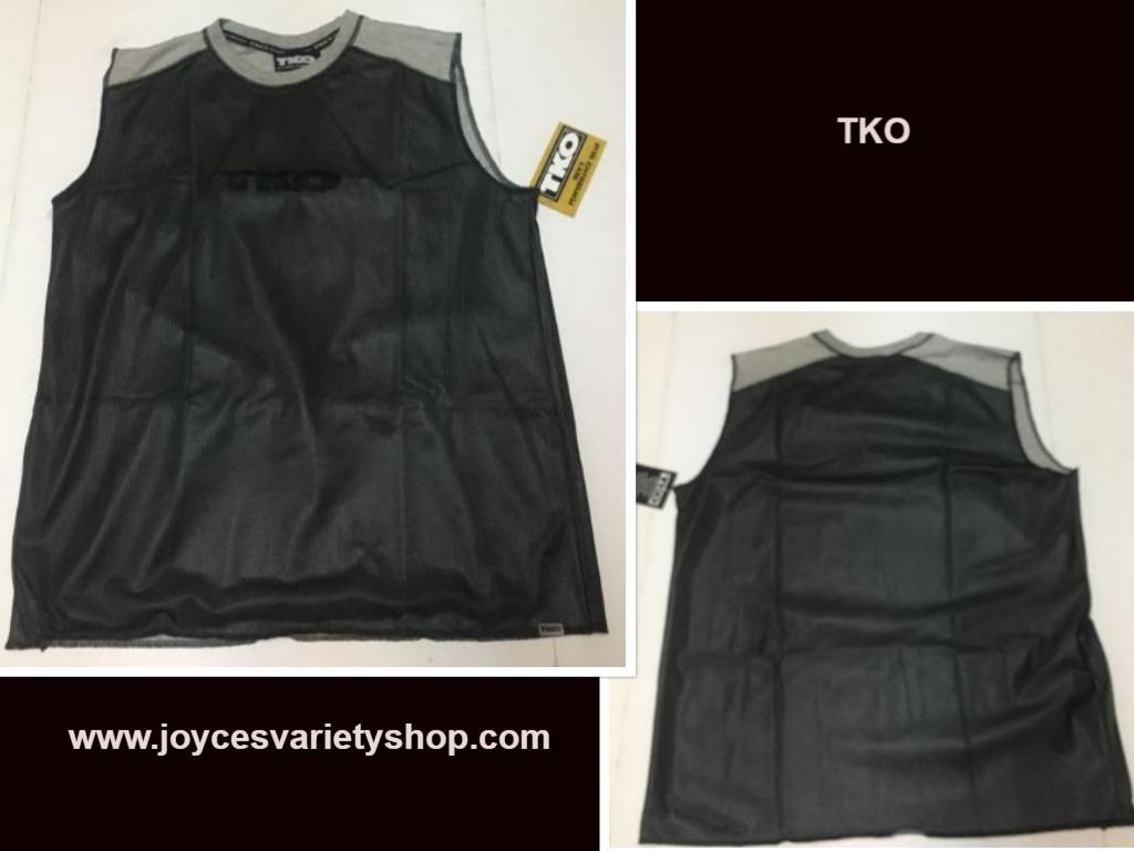 Tko mesh black shirt web collage