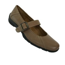 Natural Soul by Naturalizer Womens Size 6 Tan Leather Mary Janes Shoes - $23.75