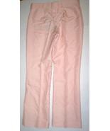 New NWT Womens Designer Stella McCartney Pants 40 4 Pink Silk Blush Cuff... - $1,065.00