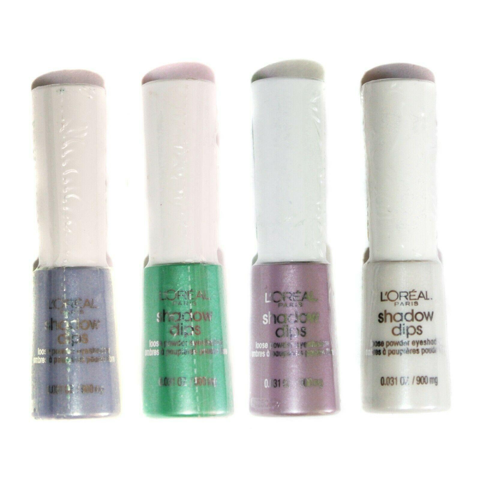 L'OREAL* (1) Bottle SHADOW DIPS Loose Powder EYESHADOW Eye Makeup *YOU CHOOSE*