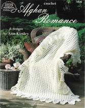Crochet Pattern Booklet-Afghan Romance-6 Designs by Ann Kirtley - $4.95