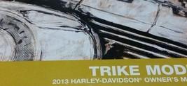 2013 Harley Davidson Trike Modelos Usuario Operadores Propietarios Manua... - $59.38