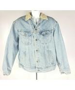 Lee Fahrer Jeansjacke Vintage 1960s Sanforisierte 101-J Made USA Dunkel ... - $98.97