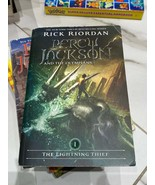 Percy Jackson and the olympians rick riordan paperback novel - $12.16