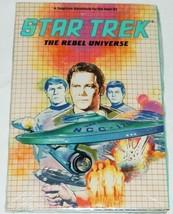 Star Trek The Rebel Universe Atari Computer Game 1987 Simon and Schuster... - $96.74