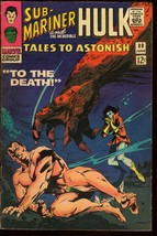 TALES TO ASTONISH #80-SUB-MARINER-HULK-MARVEL VG+ - $22.35