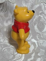"Winnie The Pooh Bear 3"" PVC Birthday Cake Topper Action Figure Disney Store image 2"