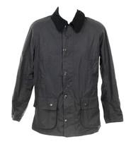 "J Crew Barbour ""Sapper"" Tailored Fit Weatherproof Waxed Jacket Jacket Black - $303.59"