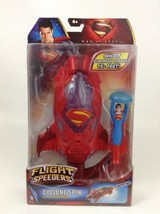 DC Superman Man of Steel Flight Speeders Cyclone Spin Launcher Sealed Ma... - $12.82