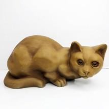 Vintage LEMART ORIGINALS Cat Heavy Doorstop Figurine Hand Painted 1979 NY  - $49.49