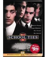 Freebie!  School Ties (1992) Widescreen DVD - $0.00