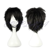 COSPLAZA Cosplay Wig Short Spiky Black Heat Resistant Synthetic Hair - $18.89