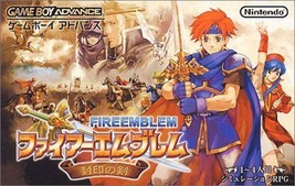Fire Emblem Fuin No Tsurugi Lawson Exclusive Nintendo Game Boy Advance J... - $83.14
