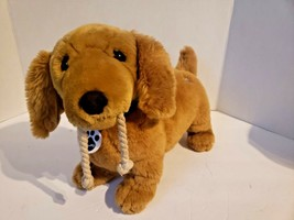 """Nintendogs interactive Dachshund 14"""" Plush toy, tested and working - $19.79"""
