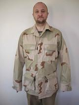 US Military AIR FORCE Army Marines Desert Camo Combat Jacket Coat Med-XLong - $29.59