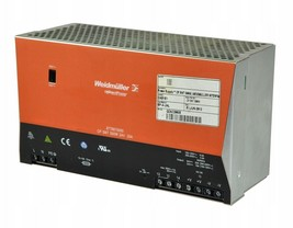 CP SNT 500W 8778870000 Weidmuller Power supply 24V 20A /#.2 2249 - $225.72