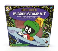 Marvin the Martian Rubber Stamp Kit Looney Tunes Craft Supplies Rubber S... - $24.64