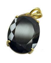 bewitching Smoky Quartz Gold Plated Brown Pendant genuine supply US gift - $454,54 MXN