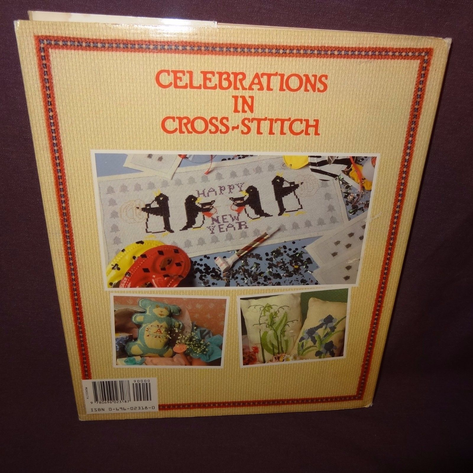 Celebrations Cross-Stitch Lisbeth Perrone Book 1988 Holidays Easter Patterns