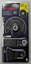 Bosch OSC3S Oscillating Multi‑Tool Starter Kit Set 4 Pc Swiss - $14.85