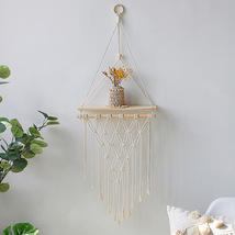 INS style hand-made tapestry shelving wall decoration Simple and pratica... - $20.88